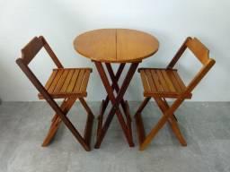 Jogo de mesa Bistro em madeira