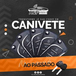 CHAVEIRO CHAVE CANIVETE