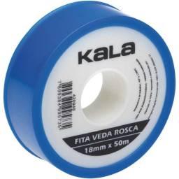 Título do anúncio: Fita Veda Rosca Kala 18Mmx50M
