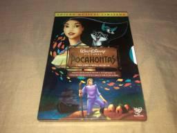 DVD Pocahontas Edição Musical Especial