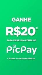 Ganhe R$ 20,00 no PicPay (DE VERDADE)