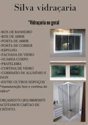 Silva Vidraçaria -Vidraçaria em Geral.