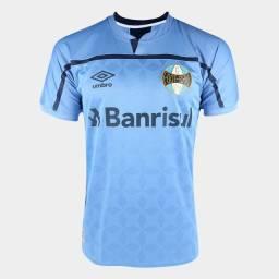 Camisa Grêmio III 20/21 s/n° Torcedor Umbro Masculina - Azul e Marinho