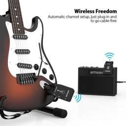 Transmissor de violão e guitarra sem fio