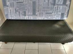 Cama de solteiro bem conservada 150 aceito oferta