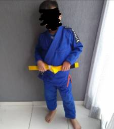Kimono infantil jiu-jitsu/judô Outshock