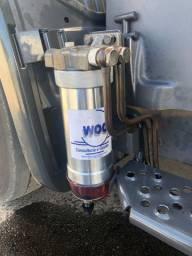 Purificador de óleo diesel substitui o filtro racor.