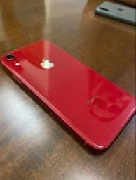 Título do anúncio: iPhone XR 64GB RED - Seminovo - 12 x 229,90