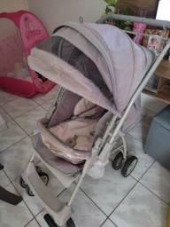 Título do anúncio: Vende-se um carrinho de bebê e um bebê conforto