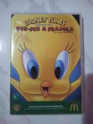 Dvd Piu-Piu e Frajola-Original-Infantil