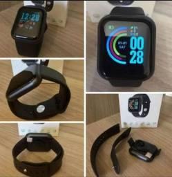 Relógio D13 Smartwatch Android Bluetooth