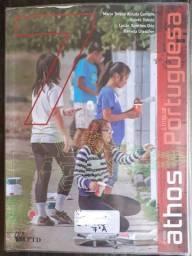 Livro - Língua Portuguesa Editora Ftd Projeto Athos 7 Ano