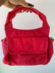 Bolsa Kipling vermelha 2 em 1 - original