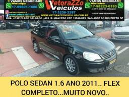 Volkswagen polo sedan 2011 1.6 8v gasolina 4p manual