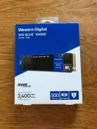 Ssd WD Blue SN550, 500GB, WDS500G2B0C