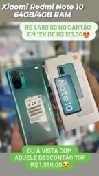Smartphone Xiaomi Redmi Note 10 128Gb/4Gb RAM
