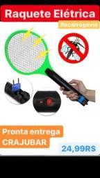 Raquete elétrica recarregáveis