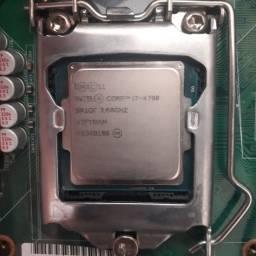 Kit gamer,  placa mãe Lenovo IS8XM, I7 4° Geração 4790, 12 GB memoria