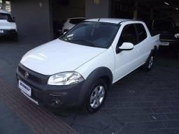 Fiat Strada Freedom 1.4 Flex Cabine Dupla 03 Portas 2019/2020 Branco Cód. 6849