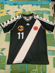 Camisa do Vasco Kappa 2000 número 11 tam P