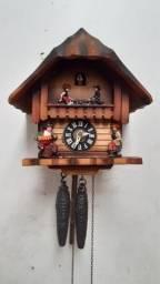 Relógio de parede cuco  Germânico modelo chalé
