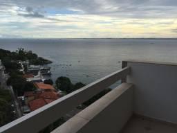 Apartamento vista mar 3 quartos na Barra