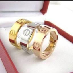 Anel Cartier Love - Ouro 18k  - C/NF - 12X Boleto - Oportunidade !!!  Leia !!!!