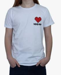 Camiseta Geek - 100HP - 100% Algodão