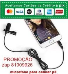 microfone para celular live