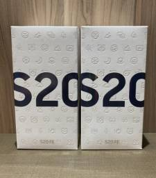 10x239 Samsung S20fe 128GB Exynos, azul branco Novo Lacrado Nf Garantia - 62.9.91.57.92.17