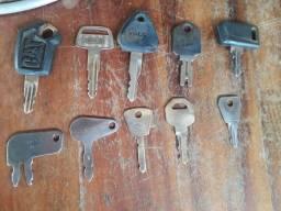 Chaves para equipamentos pesados