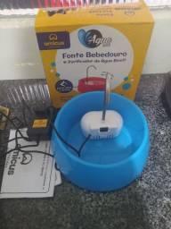 Fonte bebedouro e purificador de água bivolt