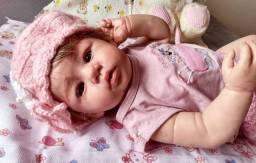 Vendo essa linda bebê reborn nova - Pode dar banho.