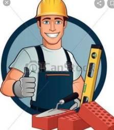 Serviço de pedreiro básico ao acabamento