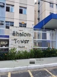 Alugo apt no cond. Shalom Tower, próximo a ponta negra em frente ao Porão do Alemão