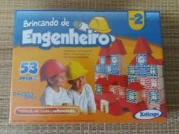 Brincando de engenheiro - Pequeno construtor - Brinquedo infantil