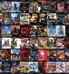 Jogos de PS2 a escolha do cliente