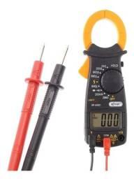 Alicate Amperímetro Profissional Digital 600v Com Pilhas - Loja Natan Abreu