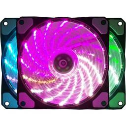 Cooler Fan Bluecase BF-08Rgb / Rgb / 120mm / BF08RGBcase - Novo