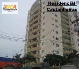 Apto com 3 quartos para locação no Residencial Castanheiras - Porto Velho/RO