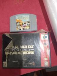 Cartucho N64 Star Wars ep1 Racer