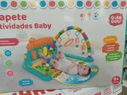Tapete atividade baby novo e com nota