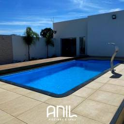 Título do anúncio: JA Piscina em oferta - piscina de fibra 6 x 3 x 1,30m