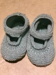 Sapatinhos/ meia/ touca bebê