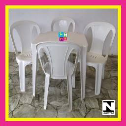 Título do anúncio: Conjunto de Mesa com Cadeiras 182kg