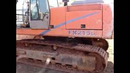 Escavadeira hidráulica fx215