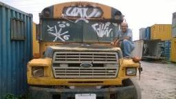 Ônibus Escolar Antigo - RJ - 1987