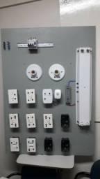 Painéis para ensino técnico em elétrica
