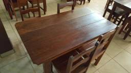 Jogo de mesa rústico 99515-9668