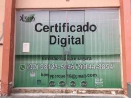 Certificado Digital Parque 10